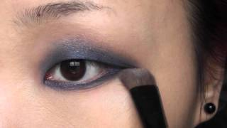 深蓝烟熏妆 Blue Smokey Eye for Monolids Thumbnail