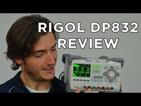 Our review of the Rigol DP832 Power Supply