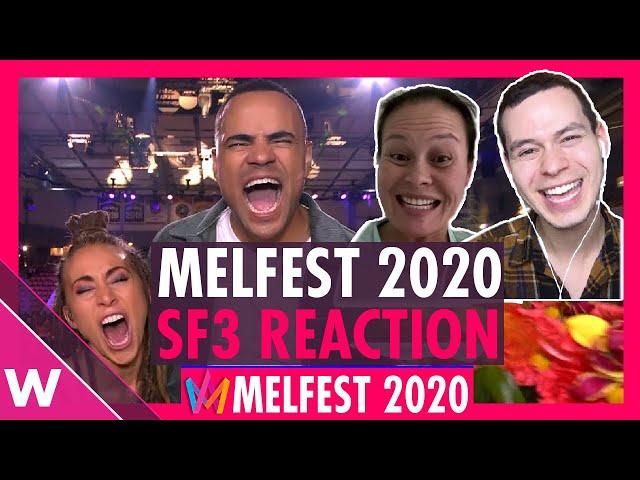 Melodifestivalen 2020 Semi-Final 3 results: Mohombi and Mariette win