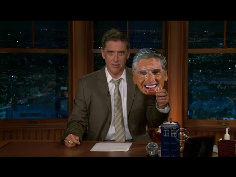 Late Late Show with Craig Ferguson 9/9/2011 Alfred Molina, Brie Larson