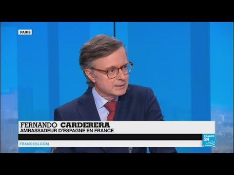 Référendum interdit en Catalogne : l'ambassadeur d'Espagne sur Fr24
