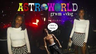 GRWM/VLOG: Travis Scott ASTROWORLD Concert! | Coco Chinelo