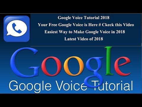Easier way to Make Google Voice | Tutorial 2018 | Google Pva