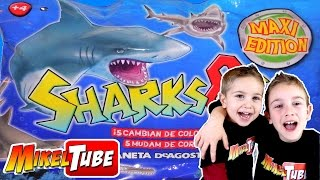 Unboxing SHARKS & Co. Tiburón Juguete que cambia de color o brilla en la oscuridad