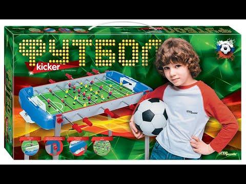 Настольный футбол. Step Puzzle. Обзор
