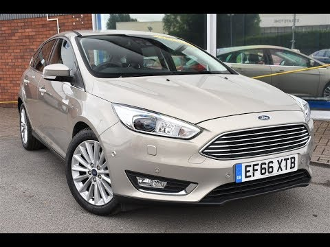 Used Ford Focus 1.0 EcoBoost Titanium X 5dr Tectonic Silver 2016
