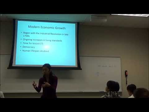 Lecture 100317: Economic growth, Business cycles, Unemployment