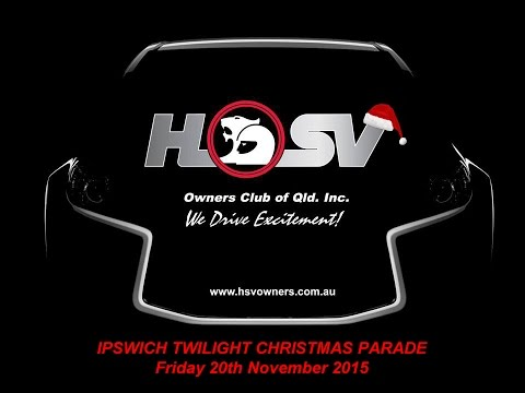 Ipswich Twilight Christmas Parade 2015