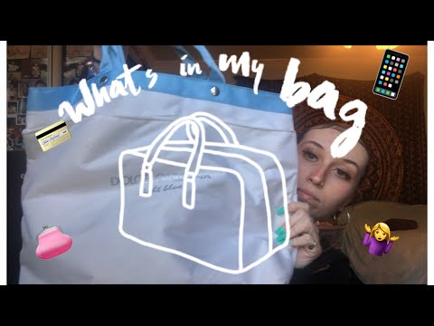 WHATS IN MY BAG 2020!! Steve Madden