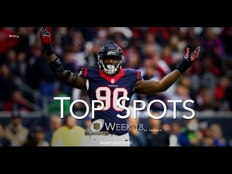 Best Plays From NFL Wild Card Weekend [2016-17] #Top Spots