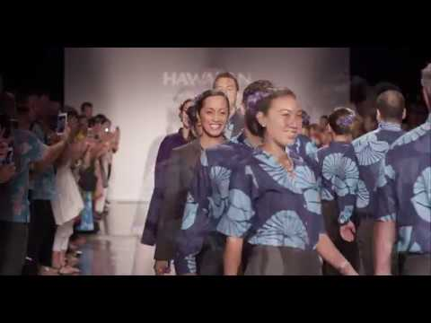 Designing The New Hawaiian Airlines Uniforms