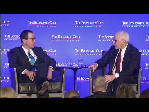The Honorable Steven T. Mnuchin, Secretary of the U.S. Department of the Treasury