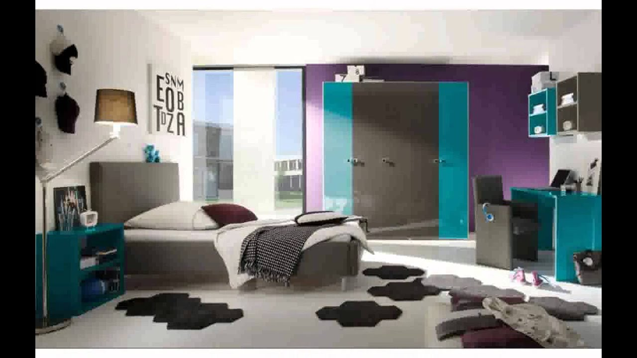 sch nes jugendzimmer ideen youtube. Black Bedroom Furniture Sets. Home Design Ideas