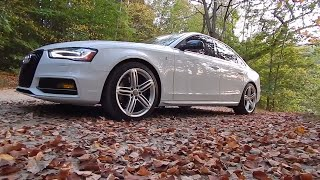 First Drive: 2013 Audi S4 - It Put Me THROUGH the Seat...
