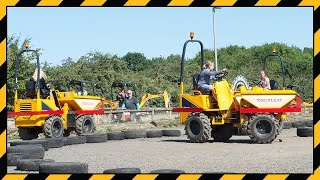 Diggerland UK: Cruising around in the Dumper Trucks - 2014