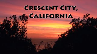 Crescent City in California