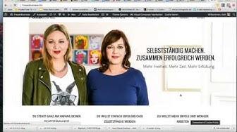 Deine WordPress Seite von Englisch auf Deutsch umstellen   Frauenbusiness. Zusammen Erfolgreich.
