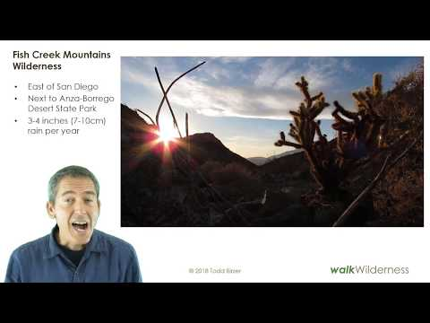 WalkWilderness: Fish Creek Mountains Wilderness