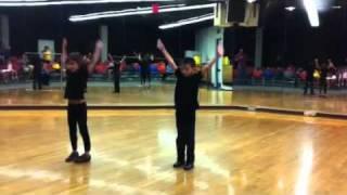 Edwin Zha dance show, another night