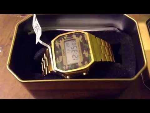 Casio gold watch a168wg 9 real vs fake doovi for Pro trek abc watch prw 3100t