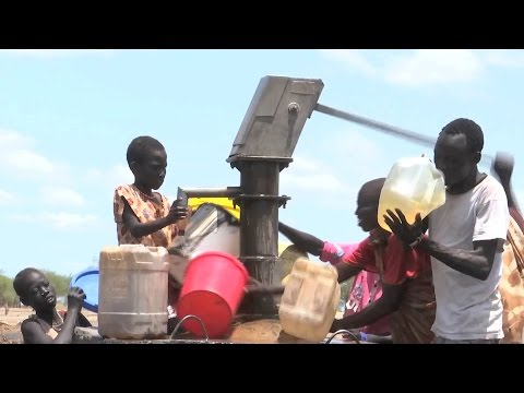 UN peacekeepers in South Sudan facilitate aid delivery in Aburoc