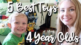 5 Best Toys For 4 Year Olds   Favourite Toys My Son Loves To Play With   A Childminding Mummy