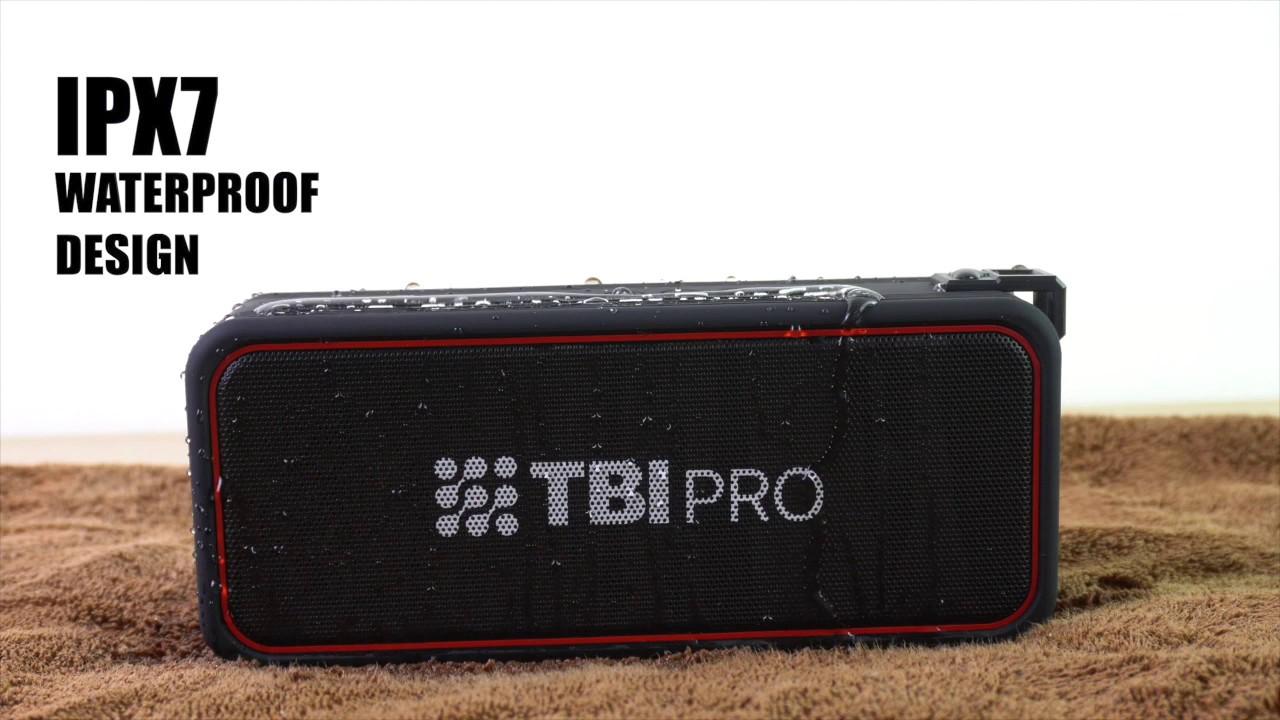 Análisis altavoz TBI Pro Bang X7