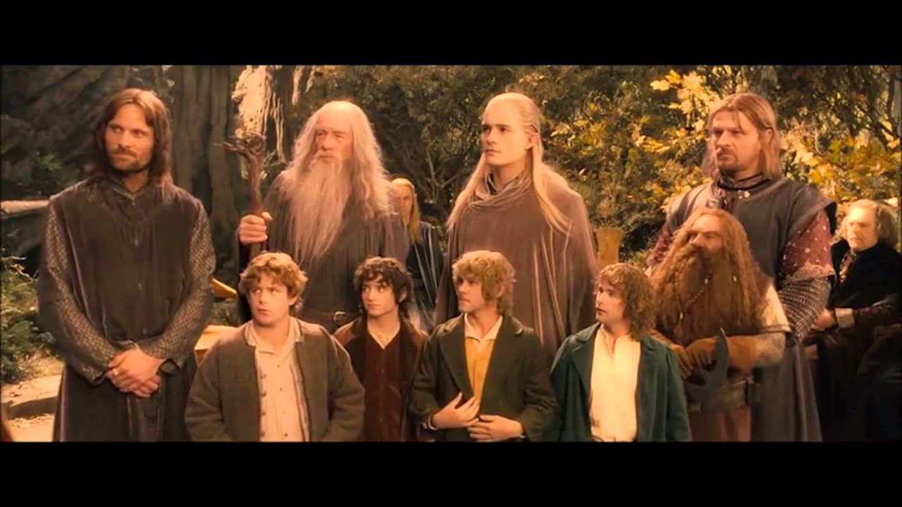 Harry Potter Lord Of The Rings Star Wars Mashup