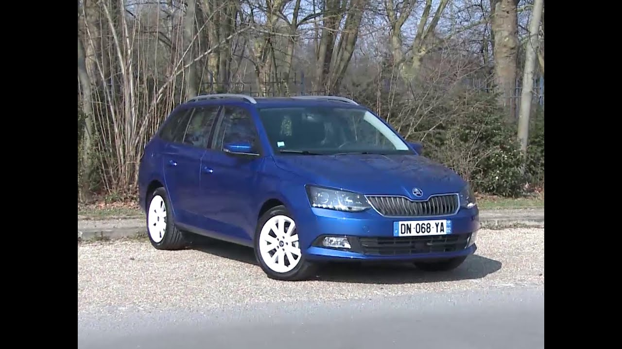 essai skoda fabia combi 1 4 tdi 90 ambition 2015 youtube. Black Bedroom Furniture Sets. Home Design Ideas