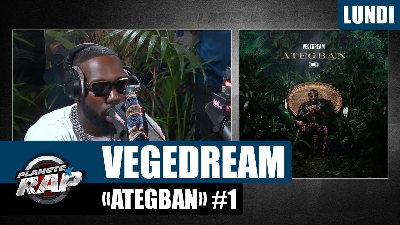 """Planète Rap - Vegedream """"Ategban"""" #Lundi"""