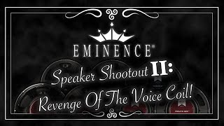 Eminence Speaker Shootout II: 7 Speakers (On 2 Different Rigs - With Downloads)