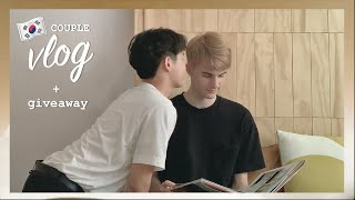 [Korea Vlog Ep.2 + Giveaway] the worst surprise, cute cafe, wedding in Seoul