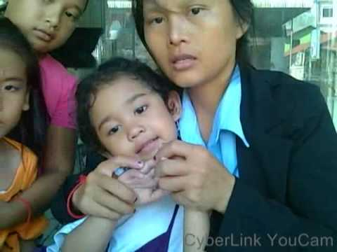 Basic Chinese learning, Khmer Children learning English in Cambodia