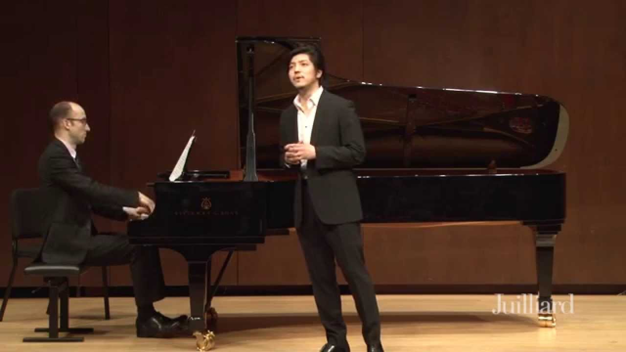 Thomas Hampson Master Class, January 28, 2015: Takaoki Onishi & Dimitri Dover