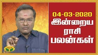 Rasi Palan – Jaya TV Tamil Astrology Show