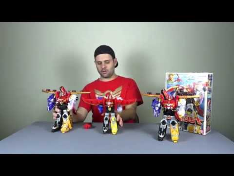 Power Rangers Megaforce Import - Gosei Great Megazord (Goseiger)