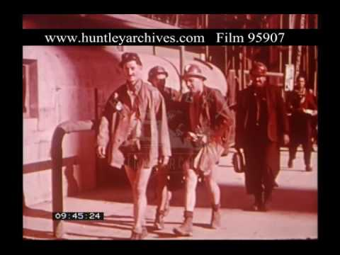 Johannesburg Mining Industry, 1950s - Film 95907