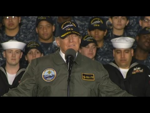 LIVE STREAM: President Donald Trump Speaks at the NAVY USS Gerald R. Ford (PCU)