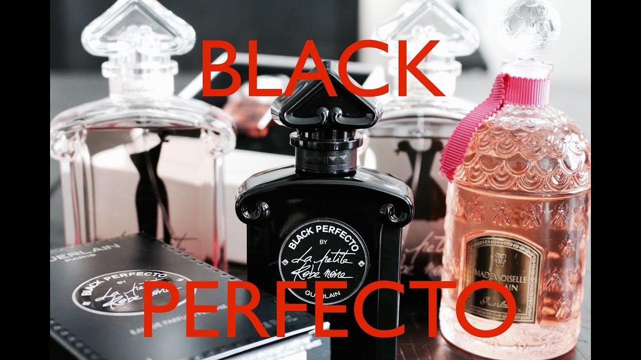 4b172fc17cb GUERLAIN BLACK PERFECTO la petite robe noire perfume is here!! - YouTube