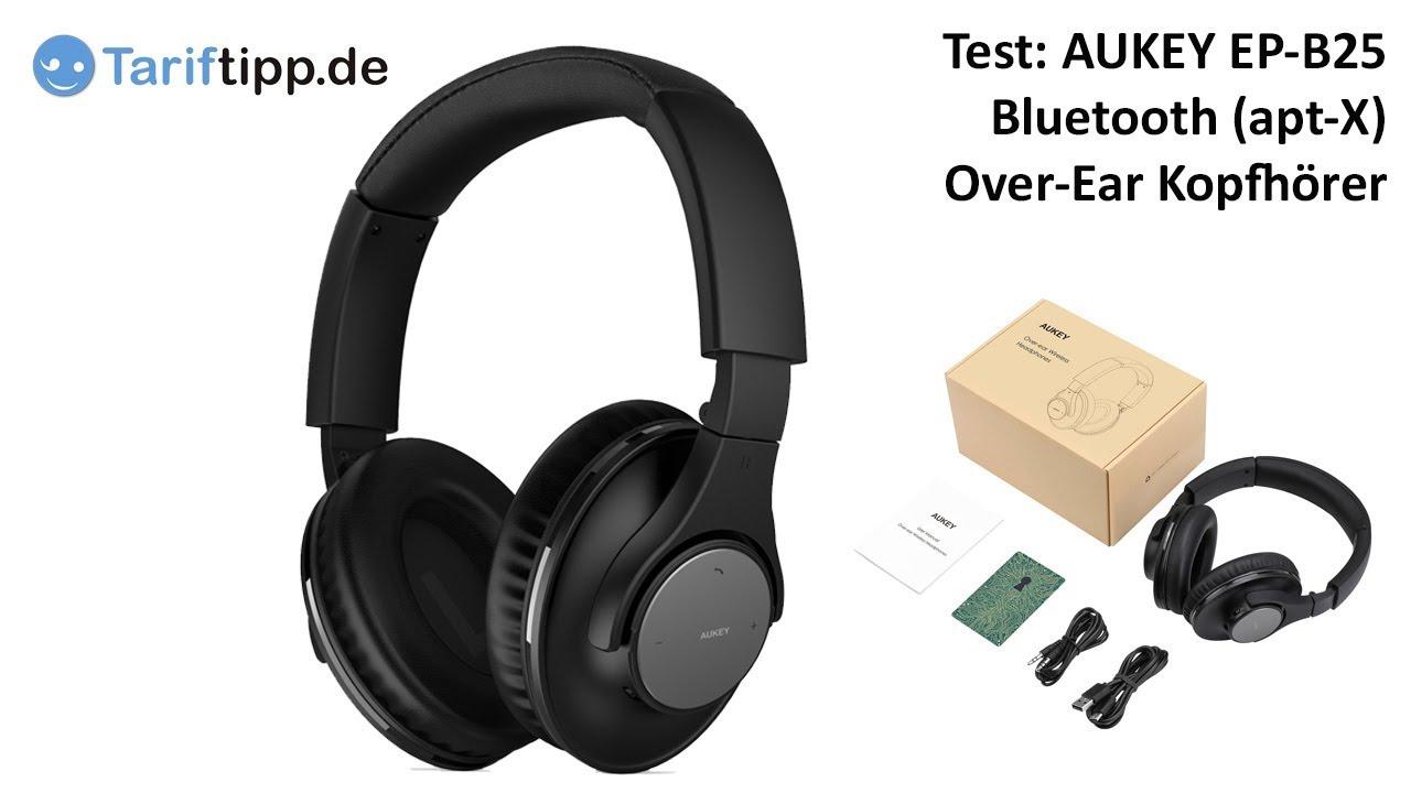 Aukey Ep B25 Bluetooth Kopfhörer Aukey Test 3 Von 4 Deutsch