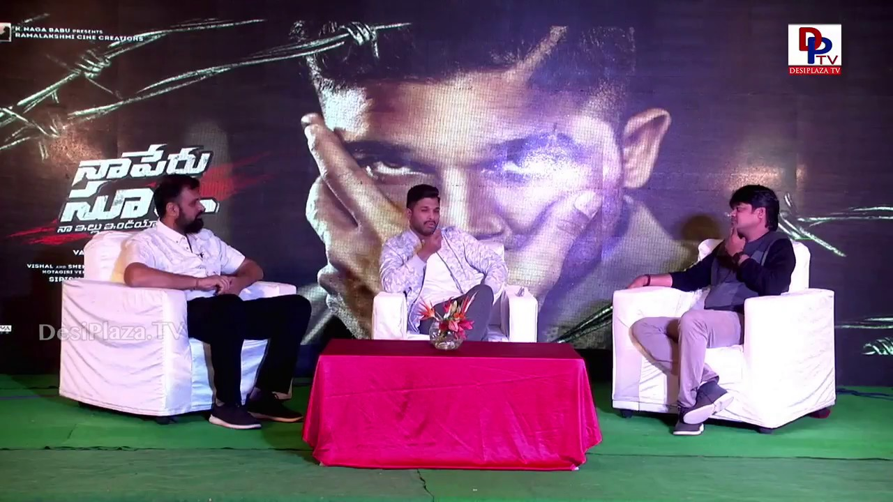 Tollywood Directors special interaction with Naa Peru Surya Naa Illu India Movie Team | DesiplazaTV