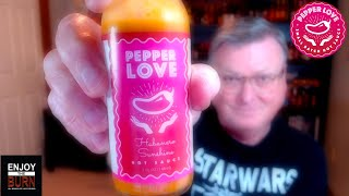 "Pepper Love ""Habanero Sunshine"" Hot Sauce Review"