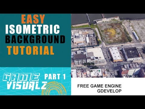 Part one Gdevelop 5 Make Easy Isometric Background Tutorial Game Design thumbnail