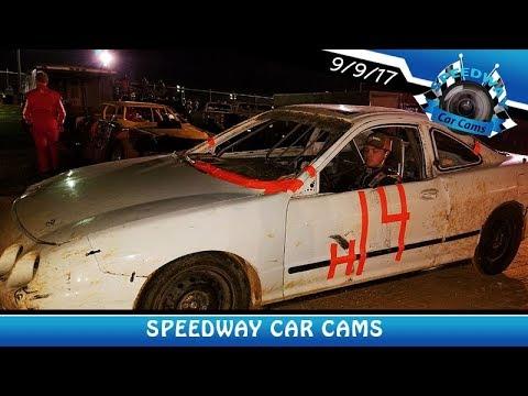 #H14 Hunter Collins - Front Wheel - 9-9-17 Fort Payne Motor Speedway - In Car Camera