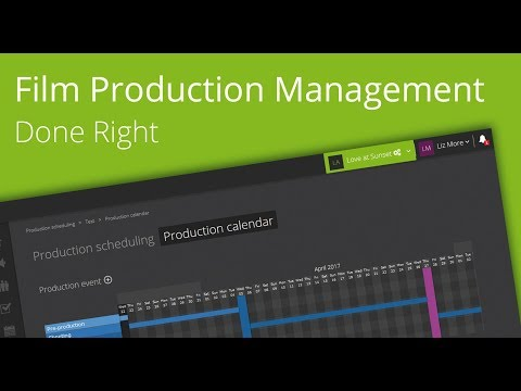 Yamdu - the award-winning Film and TV Production Management Tool