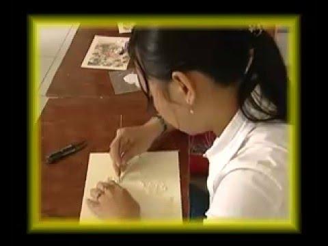 Truyền hình VTV 9 - CT Tuổi trẻ sáng tạo - Giấy xoắn nghệ thuật - Phần 1