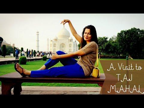 Vlog : A Visit to TAJ MAHAL | AGRA CITY | AGRA FORT | Kavya K