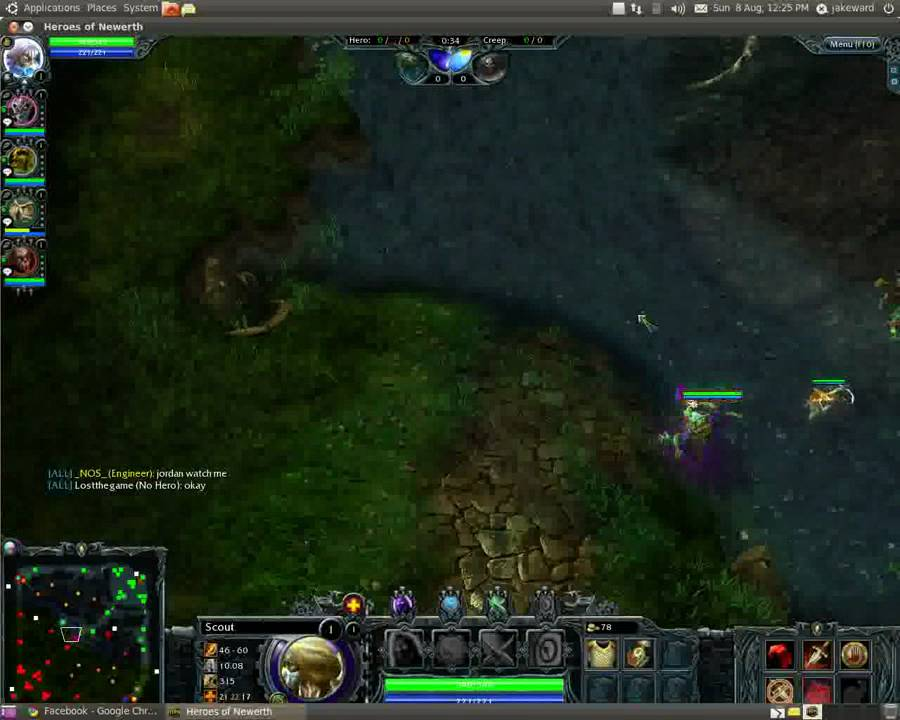 Ruoff Solar gaming in linux heroes of newerth