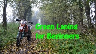 green laning for beginners exc 400