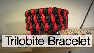 How To Make A Trilobite Paracord Bracelet